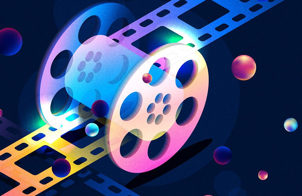 conteúdo em vídeos